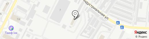 Тимер на карте Альметьевска
