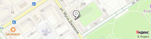 Нотариус Горшунова Ф.Р. на карте Альметьевска