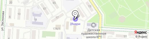 Магазин на ул. Мусы Джалиля на карте Альметьевска
