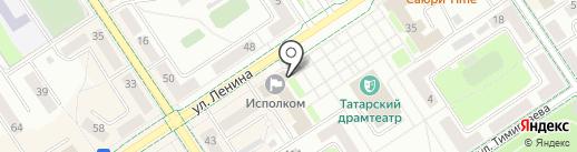 Архив Альметьевского муниципального района на карте Альметьевска