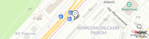Магазин морепродуктов на карте Набережных Челнов