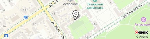 Энтузиаст-С на карте Альметьевска