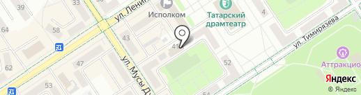Управление сельского хозяйства и продовольствия в Альметьевском муниципальном районе на карте Альметьевска