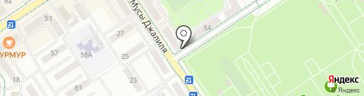 Даром на карте Альметьевска