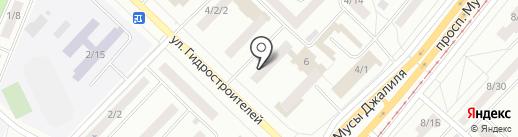 Магазин эксклюзивных сувениров на карте Набережных Челнов