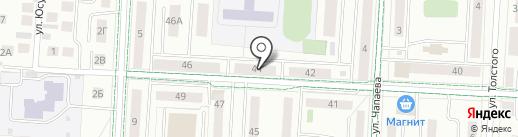 Effect на карте Альметьевска