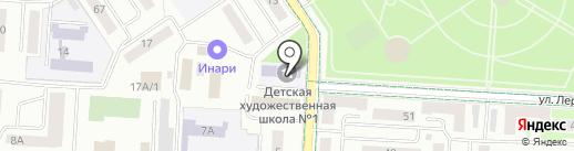 Альметьевский государственный институт муниципальной службы на карте Альметьевска