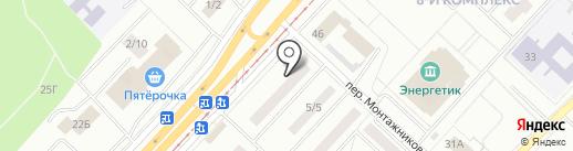 Циркуль+ на карте Набережных Челнов
