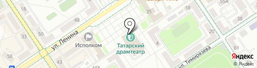 Альметьевский татарский государственный драматический театр на карте Альметьевска
