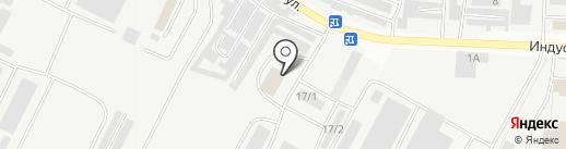 Кристал на карте Альметьевска
