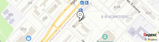 Территориальная избирательная комиссия Тукаевского района на карте Набережных Челнов