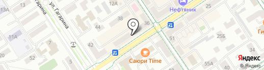 Основа мебель на карте Альметьевска