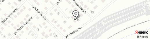 Суар Мебель на карте Набережных Челнов