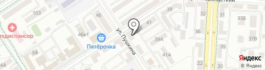 Миг на карте Альметьевска