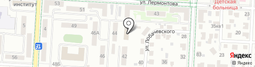 Импульс на карте Альметьевска