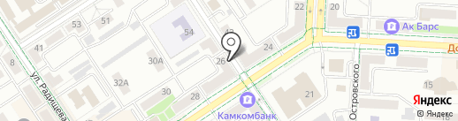 Ирис на карте Альметьевска