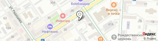 Билайн на карте Альметьевска