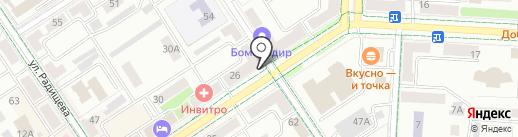 Связной на карте Альметьевска