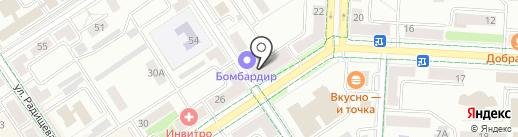 Аниме на карте Альметьевска