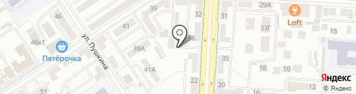 Горпроект на карте Альметьевска