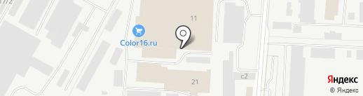 Лекам на карте Альметьевска
