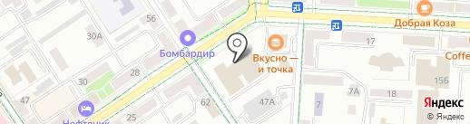 Управление по делам детей и молодежи Альметьевского муниципального района на карте Альметьевска
