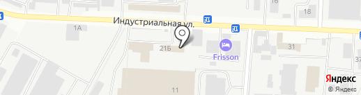Рулевой на карте Альметьевска