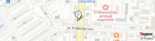 Статус-К на карте Альметьевска