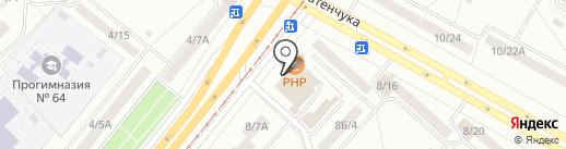 100+1 на карте Набережных Челнов