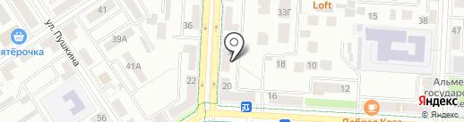 Фармсервис на карте Альметьевска