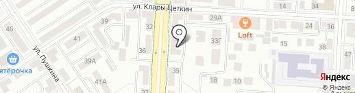 Право на карте Альметьевска