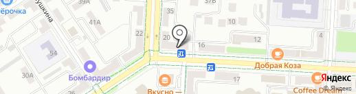 Банк Русский Стандарт на карте Альметьевска