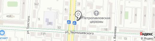 Бункер на карте Альметьевска