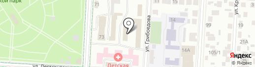 Центр гигиены и эпидемиологии в Республике Татарстан в Альметьевском, Заинском, Лениногорском районах на карте Альметьевска