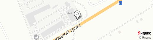 КАМАЗ центр на карте Альметьевска