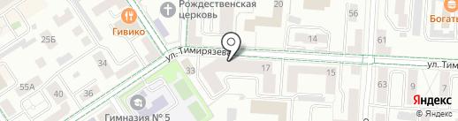 ТОНУС-КЛУБ на карте Альметьевска