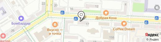 Казанские аптеки на карте Альметьевска