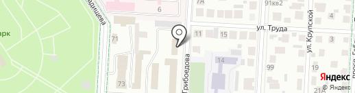 Подъем на карте Альметьевска