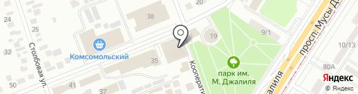 Флоренц на карте Набережных Челнов