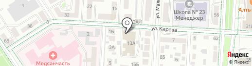 Альметьевская топливная компания на карте Альметьевска