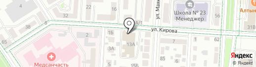 BIG-Бар на карте Альметьевска