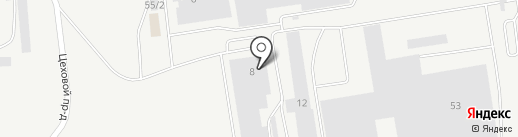 Техноанод на карте Набережных Челнов