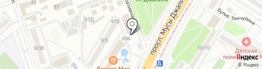 Магазин меда на карте Набережных Челнов