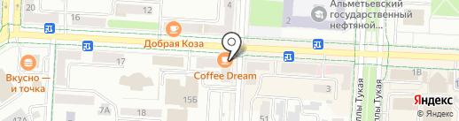 Сыйлан на карте Альметьевска