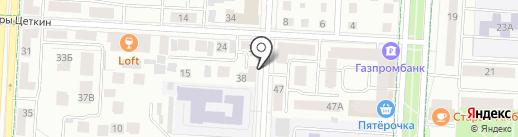 Лавка Ажур & Декор на карте Альметьевска