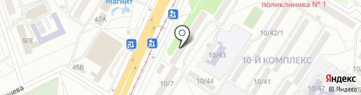 Юлмарт на карте Набережных Челнов
