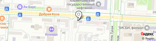 Эста на карте Альметьевска
