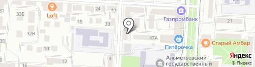 Новый век на карте Альметьевска