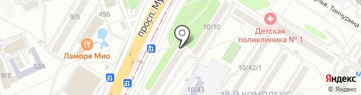 Альфа-Мед на карте Набережных Челнов