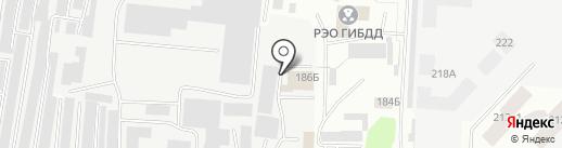 Эра на карте Альметьевска